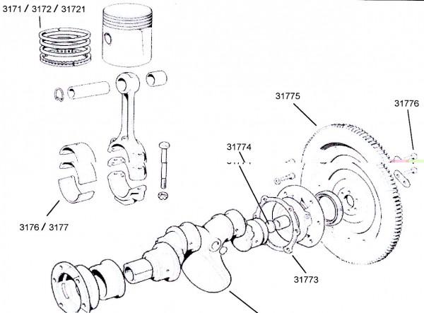 Kolbenringe Fiat 500 R / Fiat 126 73,5mm