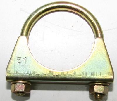 Auspuffschelle Bügelschelle 54 mm für Auspuffanlage