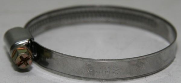 Schlauchschelle Ø 20- 32 / 9mm breit für Heizungsschlauch usw.