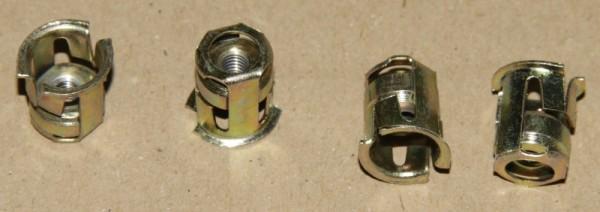 Citroen Karosseriemutter / Kastenmutter M4