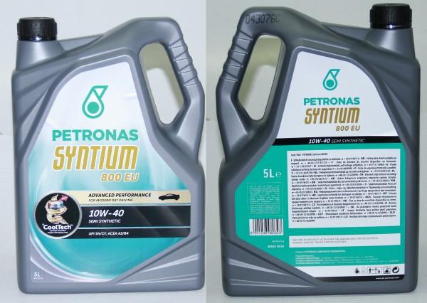Motoröl Petronas 5 Liter 800 EU 10W-40 - Fiat, Lancia, Ferrari