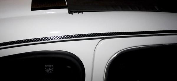 Regenrinnenleiste lfd. Meter Abarth - Corsa - Ralley Fiat 500, 6