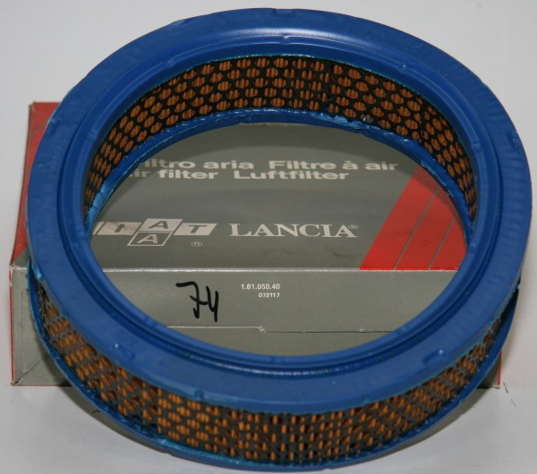 Luftfilter Fiat 124 Spider AS,BS, 124 Coupe AC, 125, 131, Lancia Beta