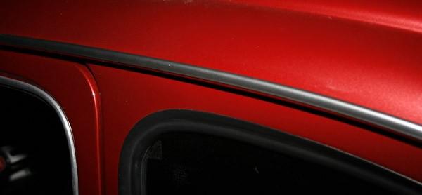 Satz Regenrinnenleisten chrom Fiat 500 NDFLR,126, 600,770, 850