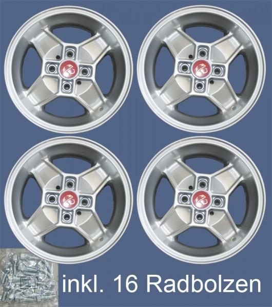 CD30 Satz 5,5 x 13 ET 7 Cromodora ABARTH Design