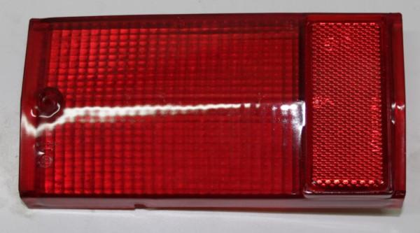 Rücklichtglas hinten links rot 124 Spider BS / CS bis Bj. Ṁ78