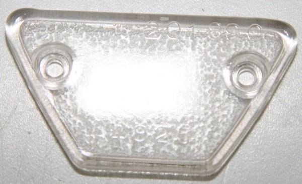 Glas für Kennzeichenleuchte 124 Spider AS / BS / CS bis Ṁ78