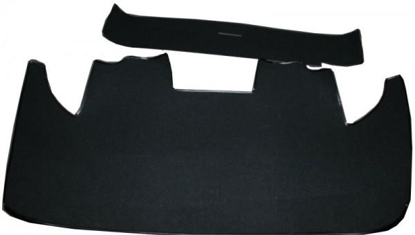 Kofferraumteppich 2 tlg Batterie im Kofferraum -schwarz-