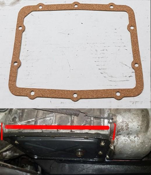 Ölwannendichtung Getriebe Fiat 124 Spider Coupe, 125, 1500/118K