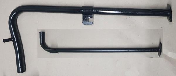 Heizungsrohr Wasserrohr unterm Auspuffkrümmer Fiat 124 Spider, Coupe, 125, 131