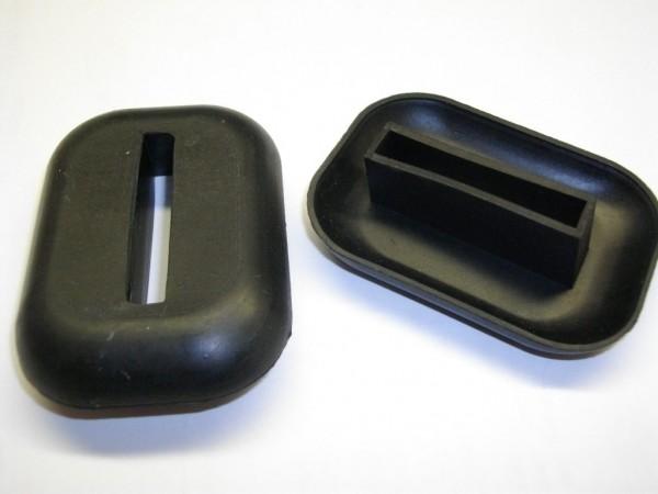 Gummi für Stoßstangenhalter vorne oder hinten Fiat 124 AS BS CS, Dino, 125
