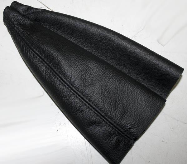 Schalthebelmanschette in ECHT Leder schwarz Fiat 124