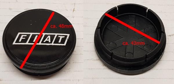 Nabendeckel, Felge, Radnabendeckel mit Fiat Schriftzug CD 167 us