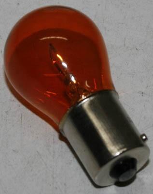 Glühbirne 12V 21W -orange- für weiße Blinkergläser