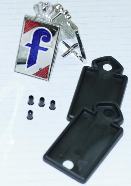 Set Pininfarina-Emblem inklusive Zubehör sehr schön, Fiat 124