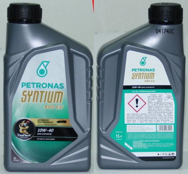 Motoröl Petronas Syntium -1 Liter- 800 EU 10W-40 Fiat 124 usw