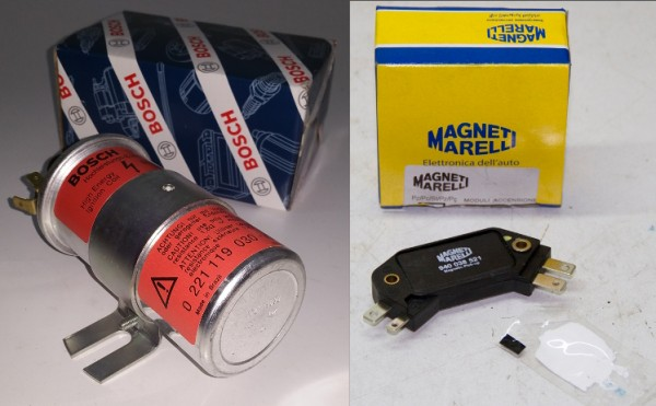Zündspule BOSCH 0 221 119 030 - MIT Modul, ohne Kühlkörper