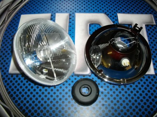 Scheinwerfer H4 Fiat 600 D E Seat 770 S - 850 / 1000 TC