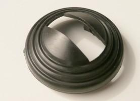 Rosette schwarz für Türöffner innen Fiat 500 FL 126 127 128