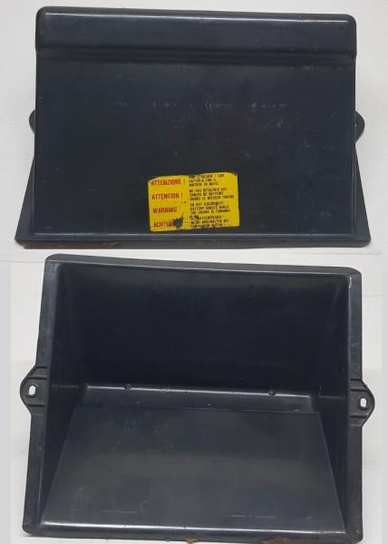 Batterieabdeckung, Abdeckung für Batterie, Kasten Fiat 124 Spide